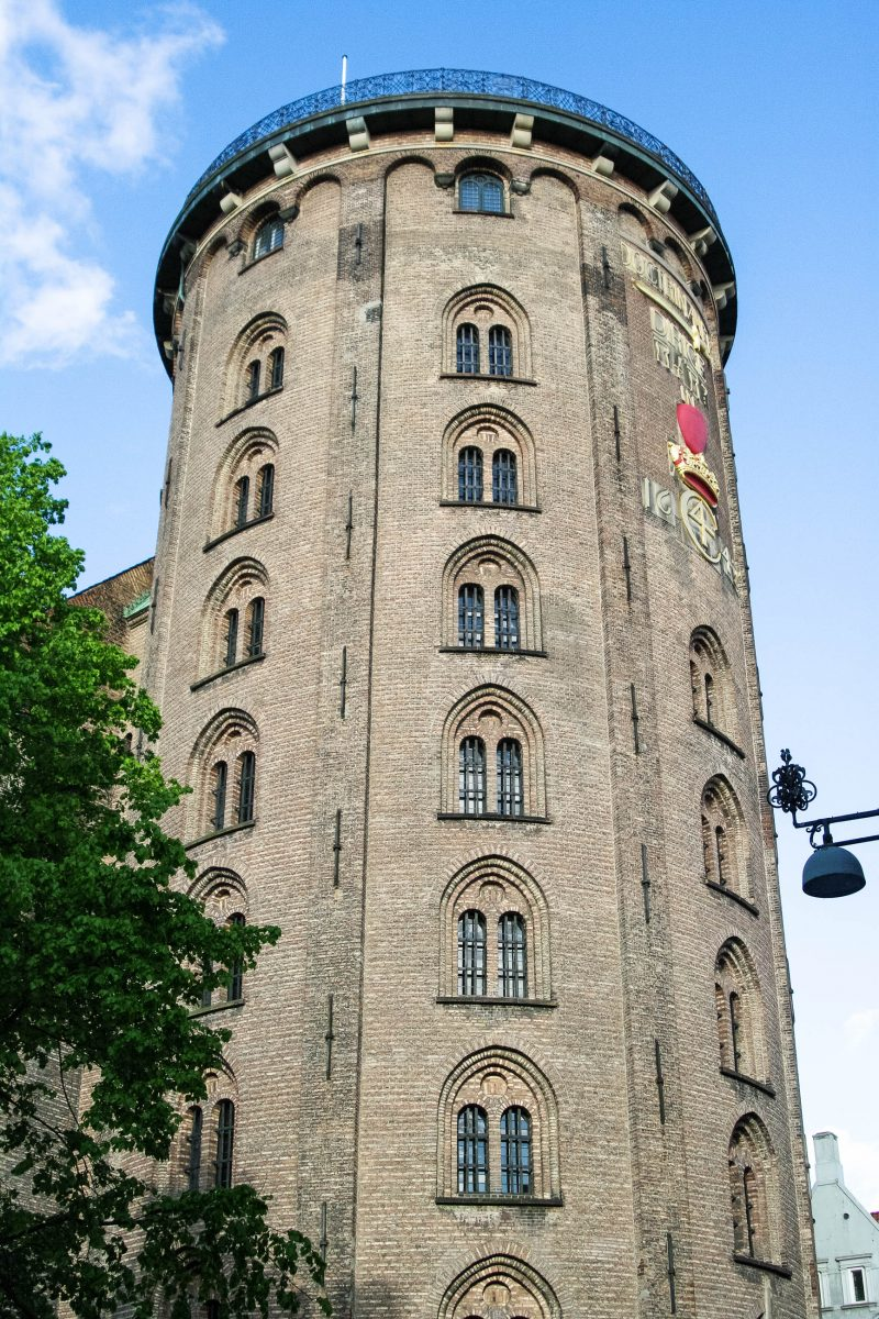 Der Runde Turm von Kopenhagen ist 35m hoch und hat einen Durchmesser von etwa 15m, Dänemark - © Guido Miller / Fotolia
