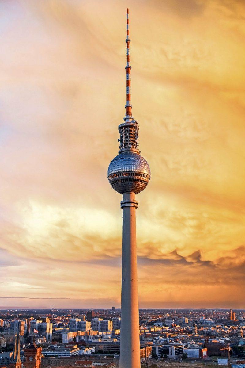 Fernsehturm In Berlin Deutschland Franks Travelbox
