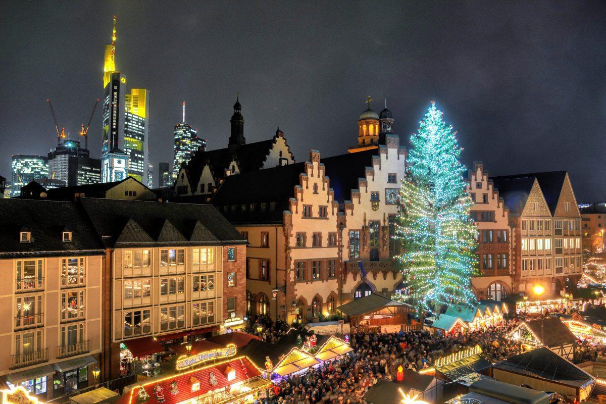 Frankfurter Weihnachtsmarkt.Bilder Weihnachtsmarkt In Frankfurt Deutschland Franks Travelbox