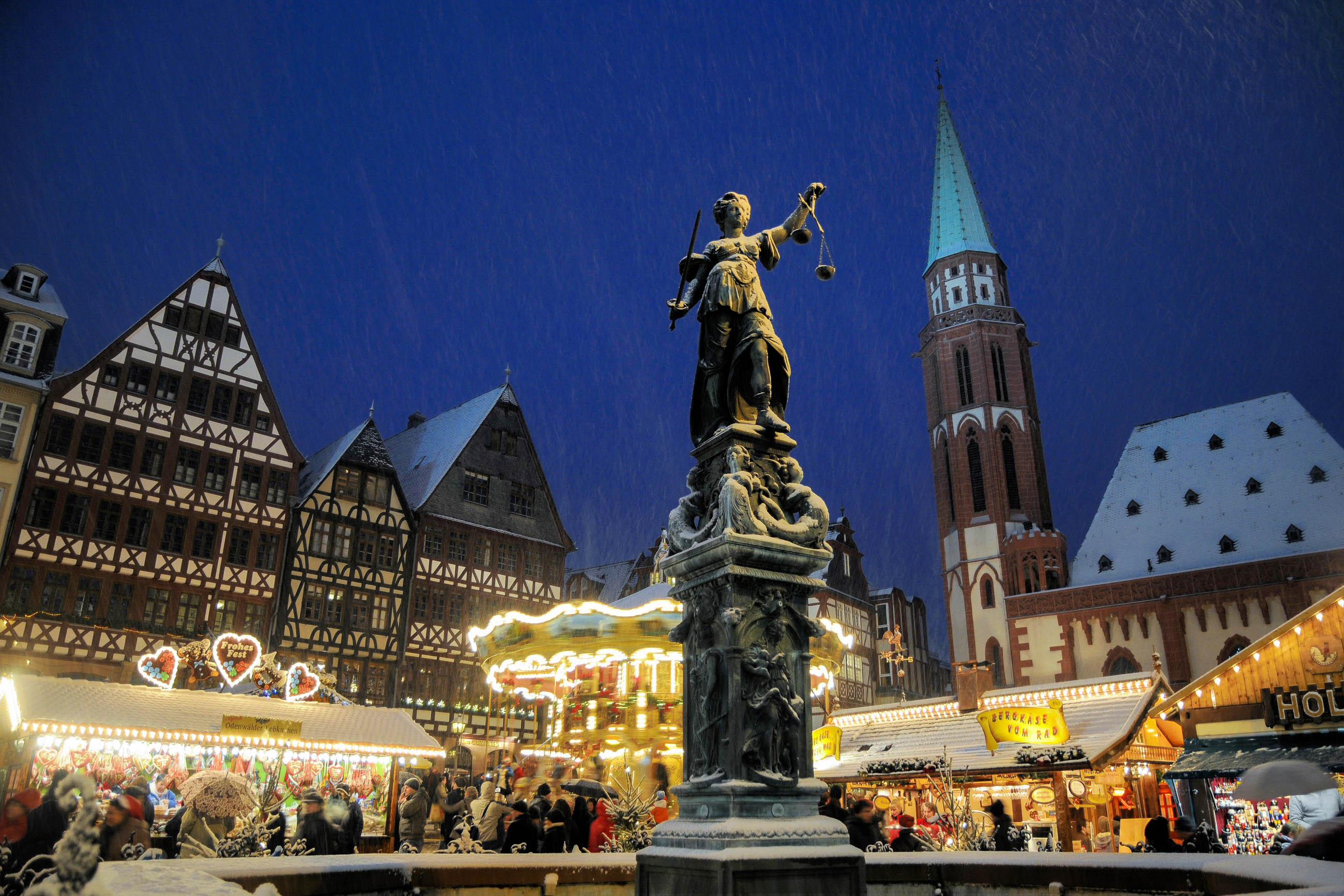 Weihnachtsmarkt Frankfurt Am Main.Bilder Weihnachtsmarkt In Frankfurt Deutschland Franks Travelbox