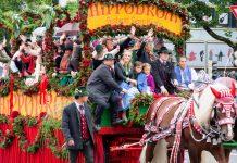 Der Einzug der Wiesnwirte ist jedes Jahr der offizielle Auftakt des Oktoberfestes, München, Deutschland - © Kochneva Tetyana/Shutterstock