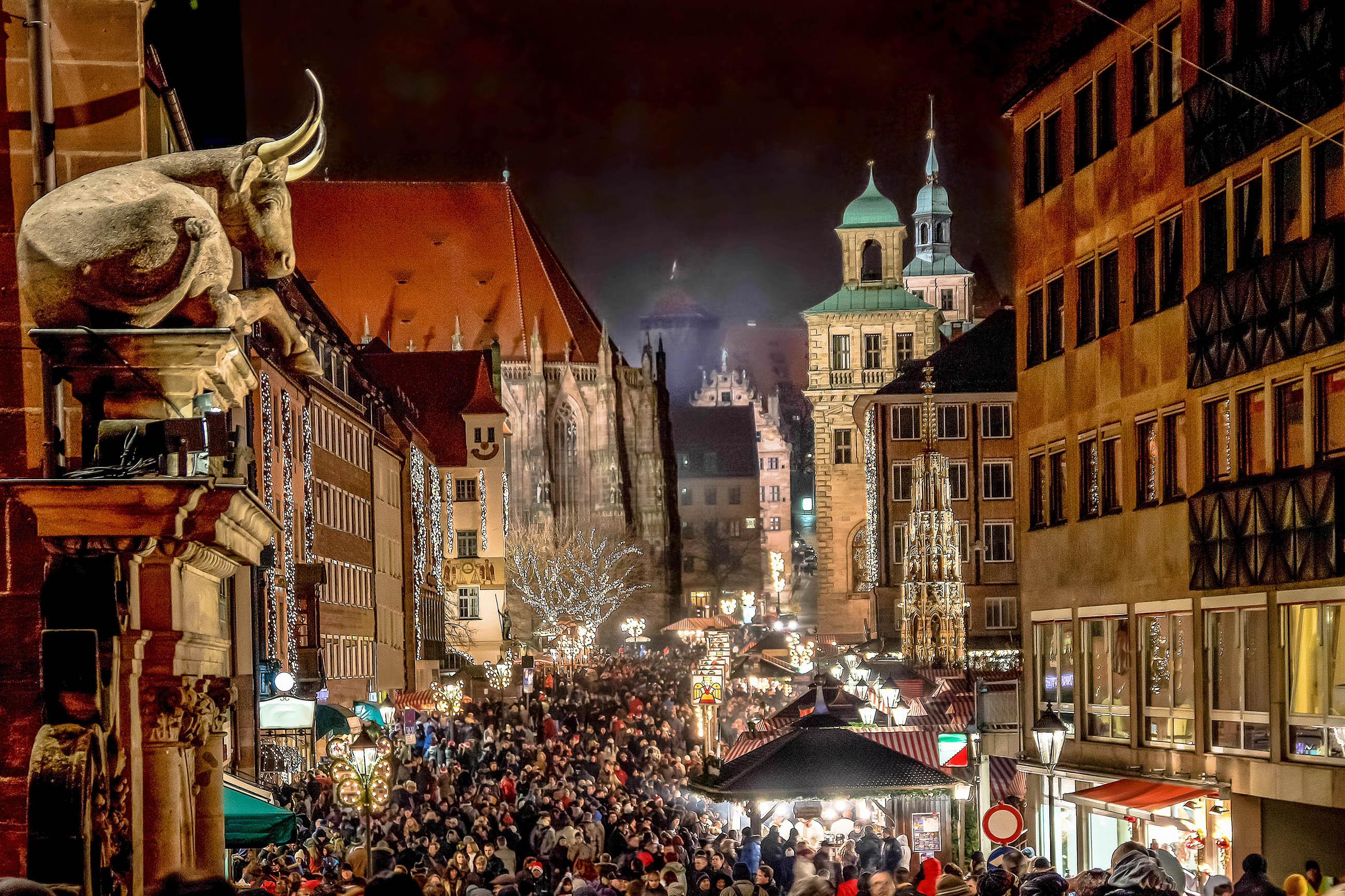 Weihnachtsmarkt Nürnberg.Bilder Weihnachtsmarkt Christkindlesmarkt In Nürnberg