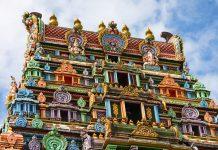 Der Sri Siva Subramaniya Tempel in der Stadt Nadi ist der größte Hindutempel südlich des Äquators, Fidschi - © Selfiy / Shutterstock