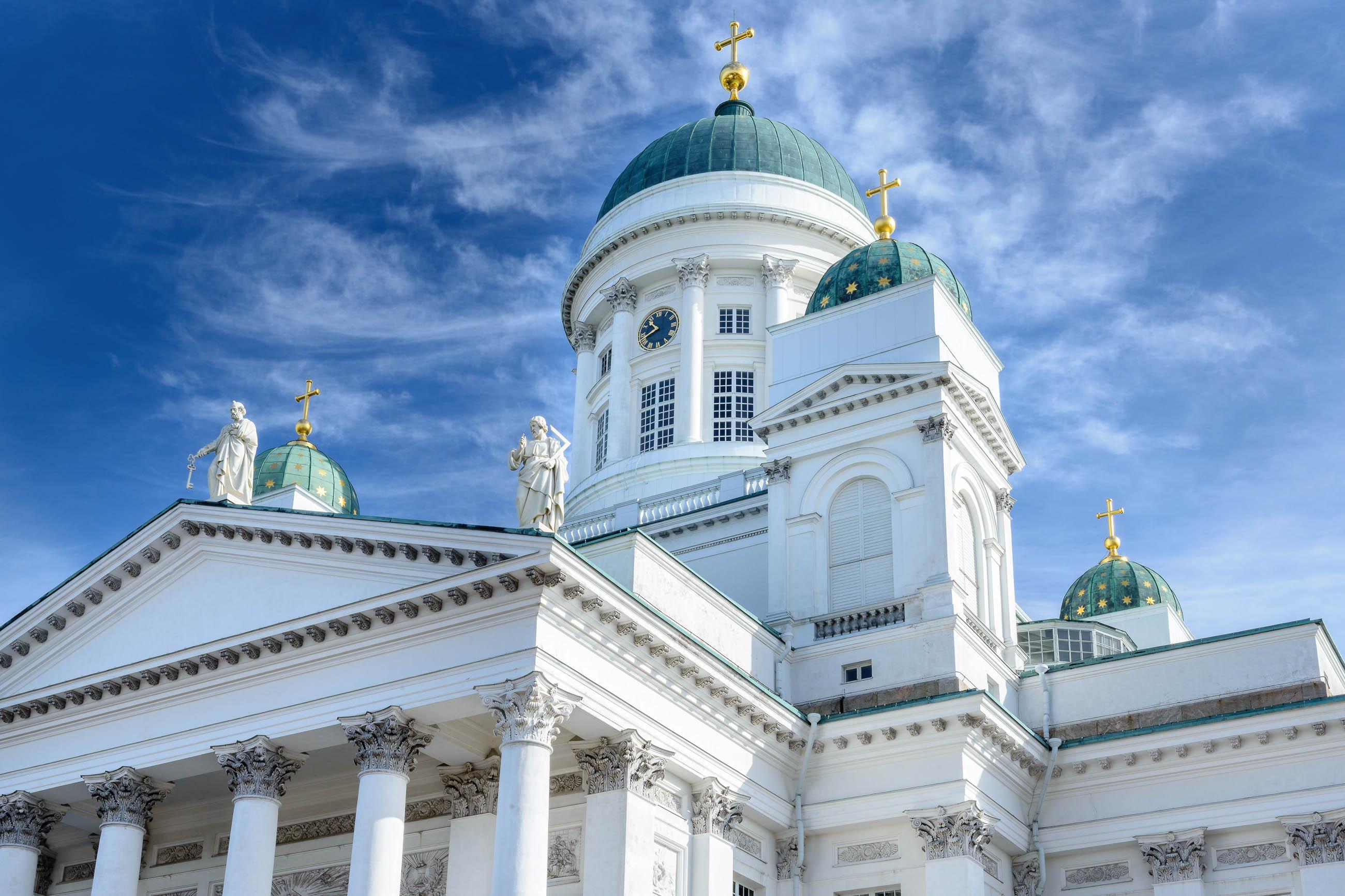 Bilder dom von helsinki finnland franks travelbox - Beruhmte architekten des 21 jahrhunderts ...