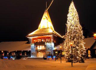 Das Weihnachtsmann-Dorf einige Kilometer nördlich von Rovaniemi gilt als offizieller Sitz des Weihnachtsmanns, den man hier das ganze Jahr über live erleben kann, Finnland - © Bart Kwieciszewski / Fotolia