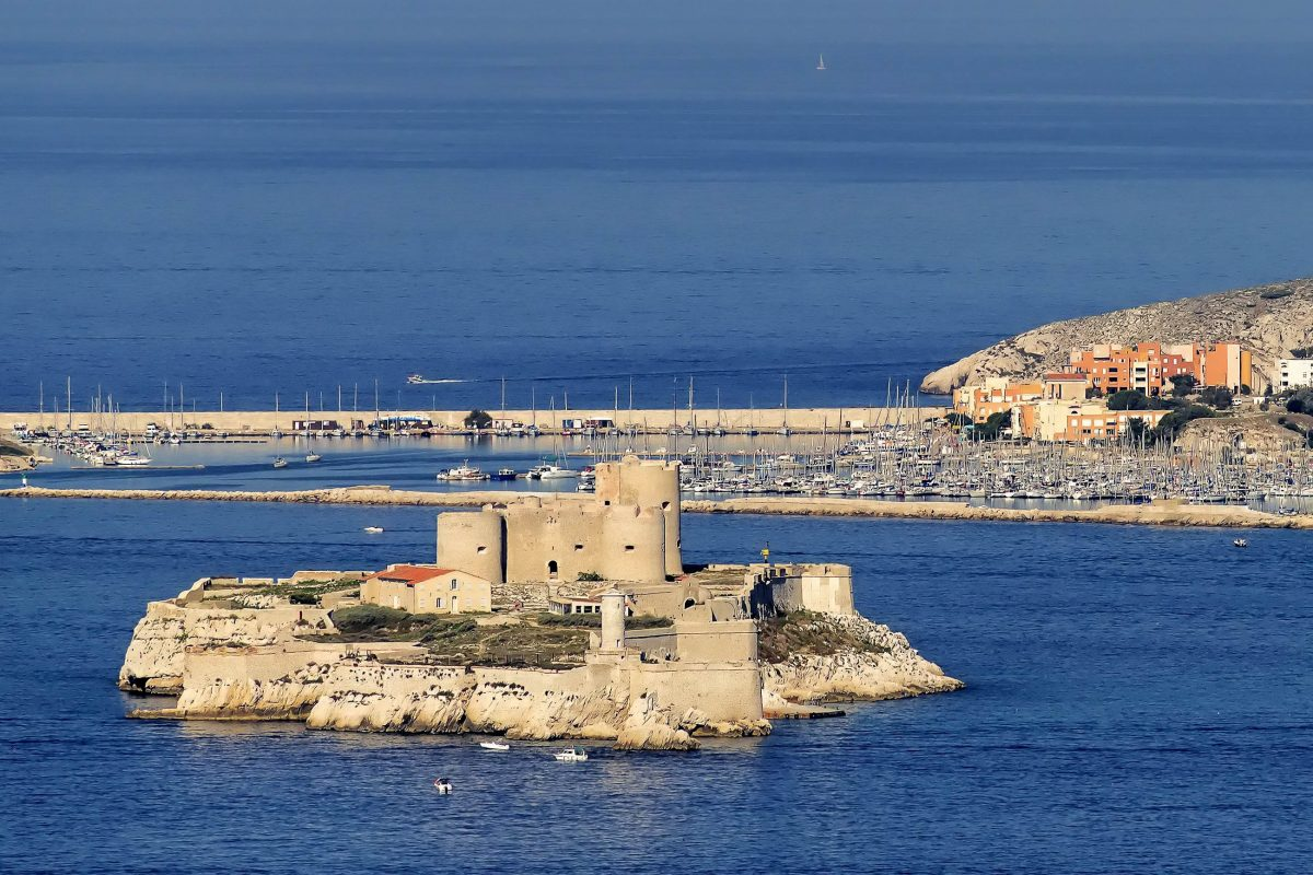 Festungsinsel Vor Marseille