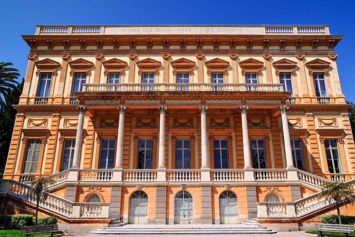Das Musée des Beaux Arts in Nizza zeigt in erster Linie Werke von französischen Künstlern aus dem späten 16. Jahrhundert bis mittleren 20. Jahrhundert, Frankreich - © Corentin / Shutterstock