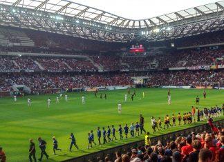 Die Allianz Riviera in Nizza wurde in nur zwei Jahren erbaut und wird bei der Fußball EM 2016 die vier Spiele austragen, Frankreich - © Mirasol CC BY-SA3.0/Wiki