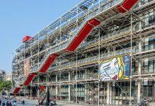 Bei spektakulärem Ausblick auf Pariser Attraktionen bietet das Centre Pompidou im Zentrum der Stadt zeitgenössische Kunst und Architektur vom Feinsten, Frankreich - © Dmitry Brizhatyuk / Shutterstock
