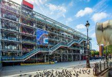 Das Centre Pompidou für zeitgenössische Kunst komplettiert das Pariser Angebot an Kunstgalerien verschiedenster Epochen, Frankreich - © Nattee Chalermtiragool / Shutterstock