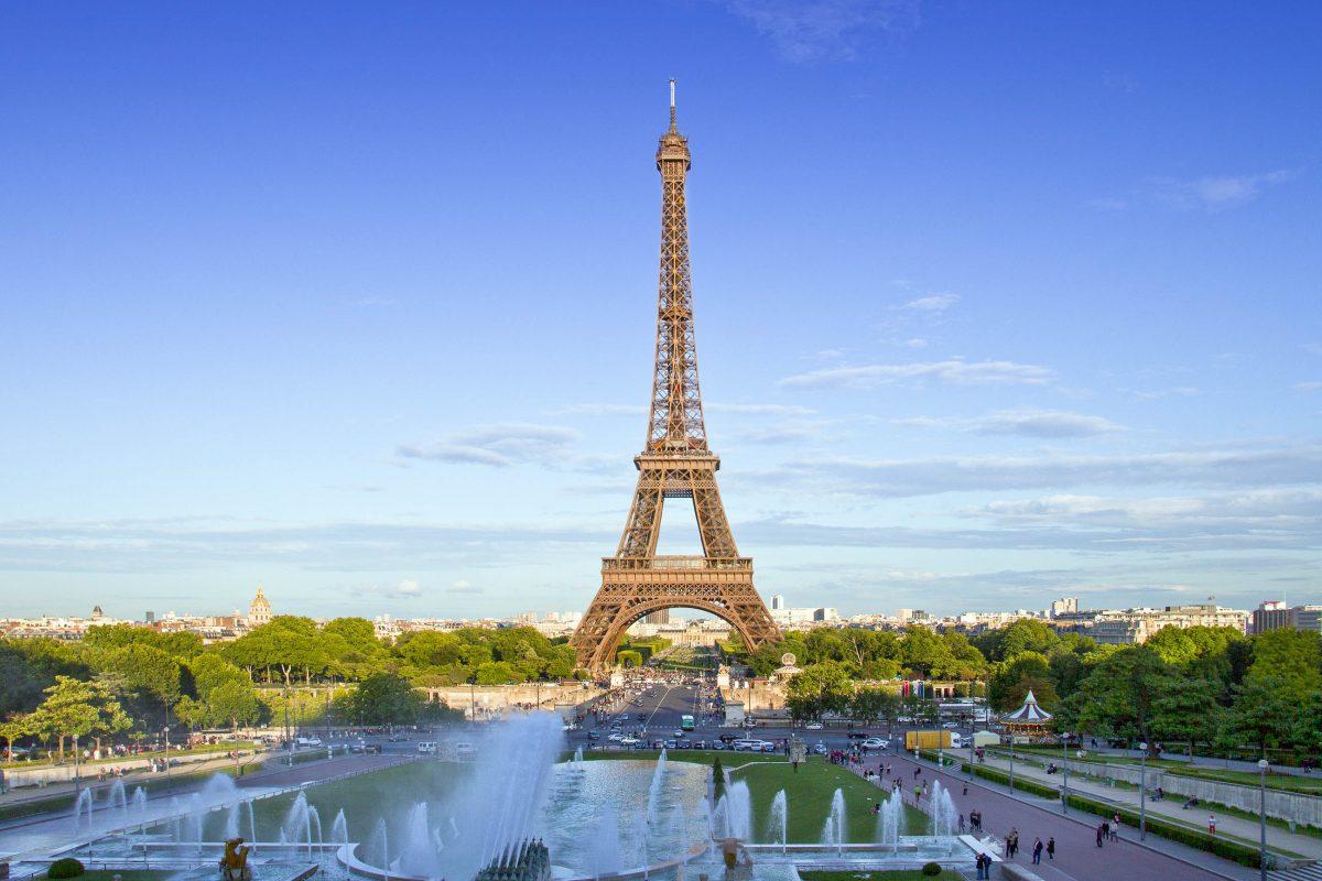 bilder eiffelturm in paris frankreich franks travelbox. Black Bedroom Furniture Sets. Home Design Ideas