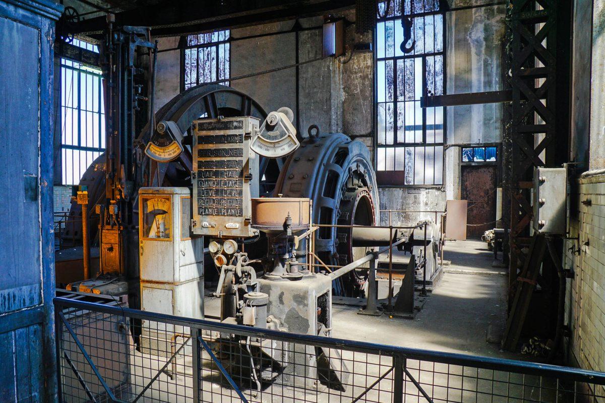 Das Musée de la Mine in Saint-Étienne, Frankreich, wurde mit Stollen und Maschinen 1991 für die Öffentlichkeit zugänglich gemacht - © Bourgeois.A GNU v1.2/Wiki