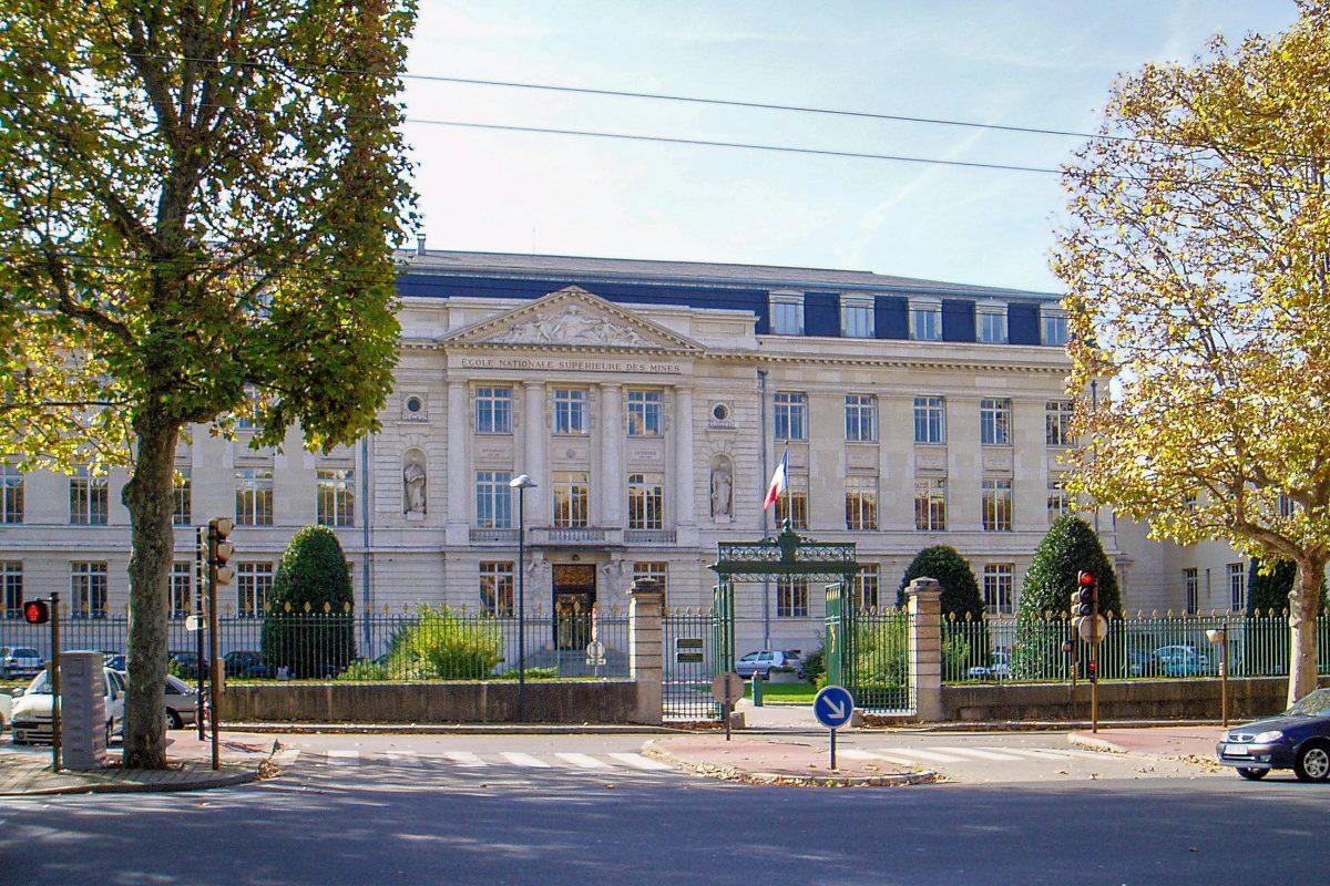 Mit der Elite-Schule École des Mines beherbergt Saint-Étienne eine der besten Ingenieurs-Hochschulen Frankreichs - © Daniel Villafruela CC BY-SA3.0/Wiki