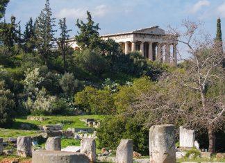 Die Antike Agora war mehrere Jahrhunderte lang das wirtschaftliche und politische Zentrum von Athen, Griechenland - © James Camel / franks-travelbox