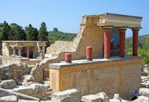 Blick auf die Ausgrabungen des Palastes von Knossós, Kreta. Griechenland - © Klaus Eppele / Fotolia
