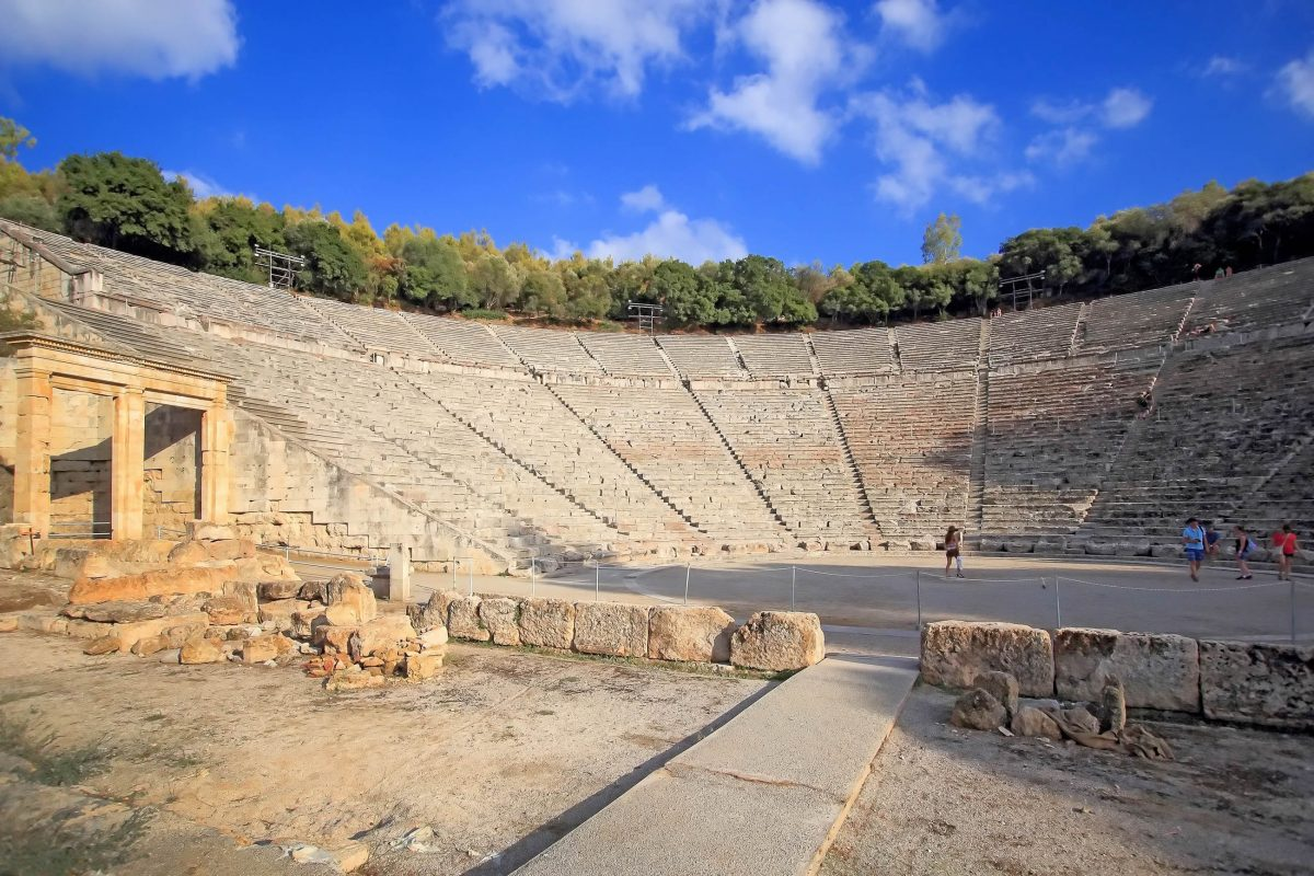 bilder theater von epidaurus griechenland franks travelbox. Black Bedroom Furniture Sets. Home Design Ideas