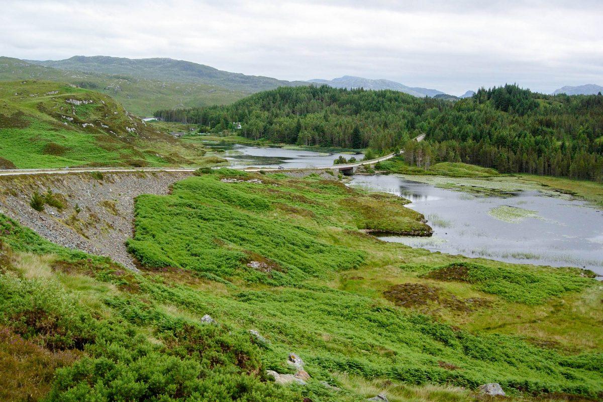 Die Highlands im Norden Schottlands sind ein El Dorado für Outdoor-Aktivisten, die unberührte Natur und die Ruhe der Einsamkeit suchen, Großbritannien - © flog / franks-travelbox