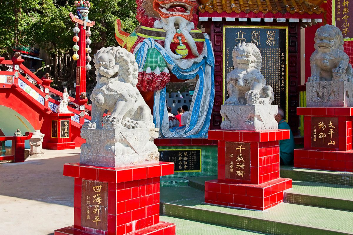 Der Kwan Yam Temple in der Repulse Bay, Hongkong - © swisshippo / Fotolia Fotolia