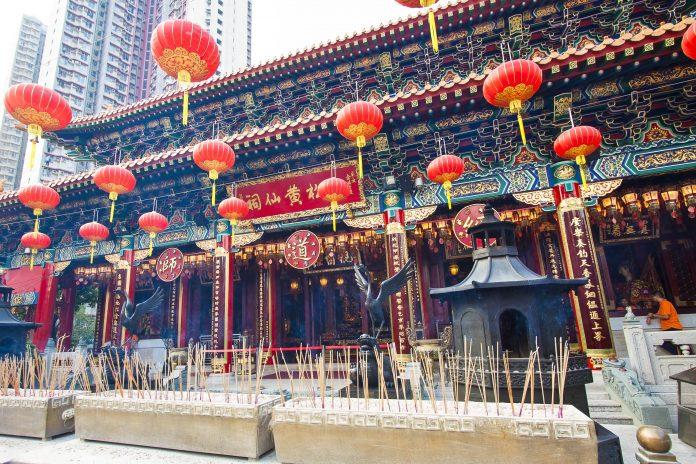 Der Wong Tai Sin Tempel in Hong Kong wurde 1921 vom taoistischen Priester Leung Renyan errichtet - © Jess Yu / Fotolia