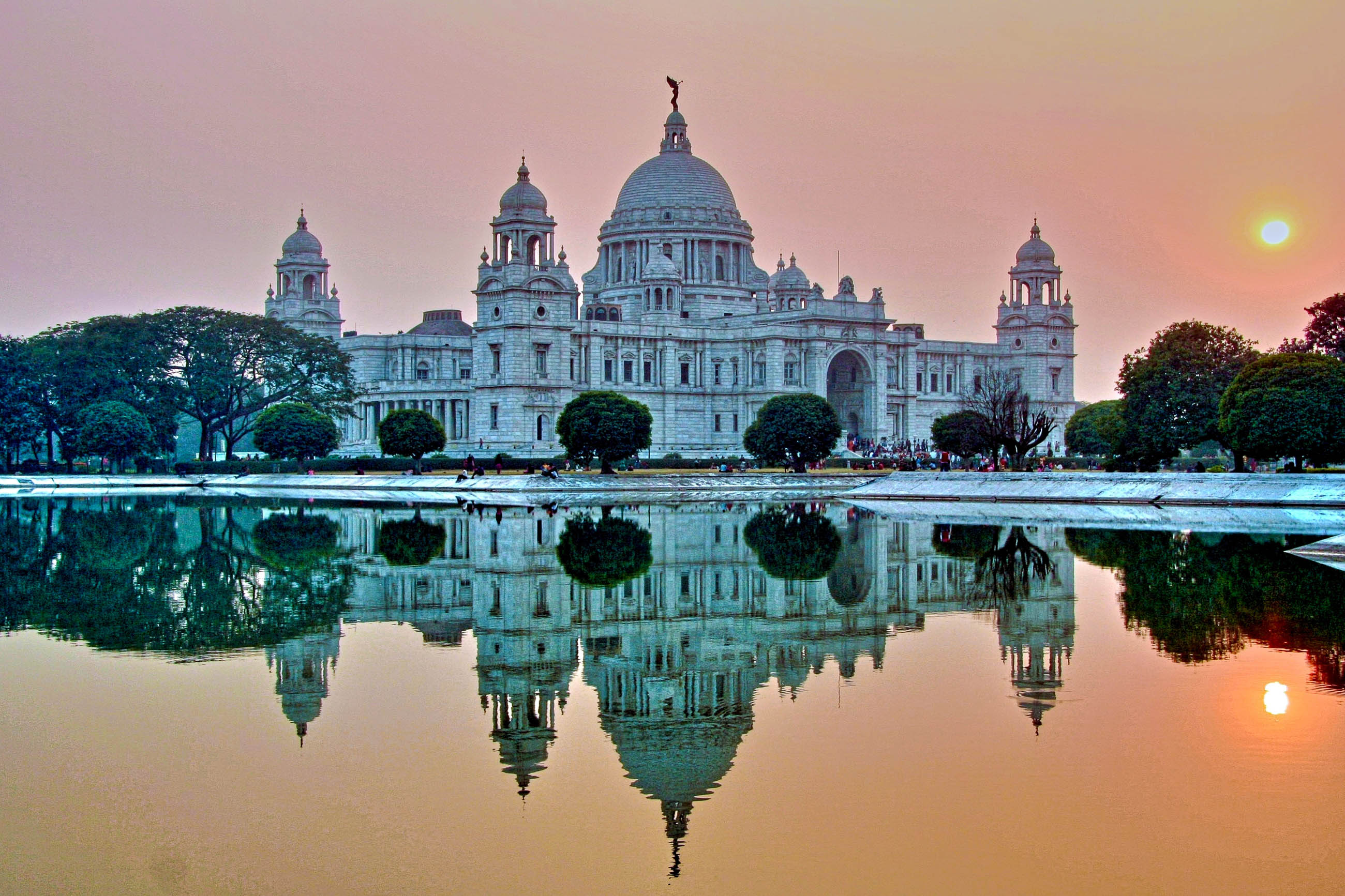 Victoria memorial in kalkutta indien franks travelbox for Das design des esszimmers