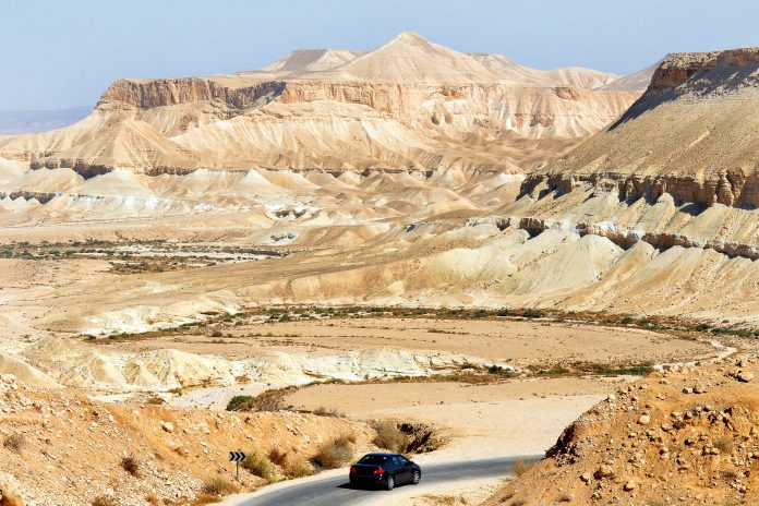"""Die Wüste Negev liegt im Süden Israels (""""negev"""" bedeutet soviel wie """"Südland"""") und erstreckt sich über eine Fläche von 12.000km2, Israel - © Rafael Ben-Ari / Fotolia"""