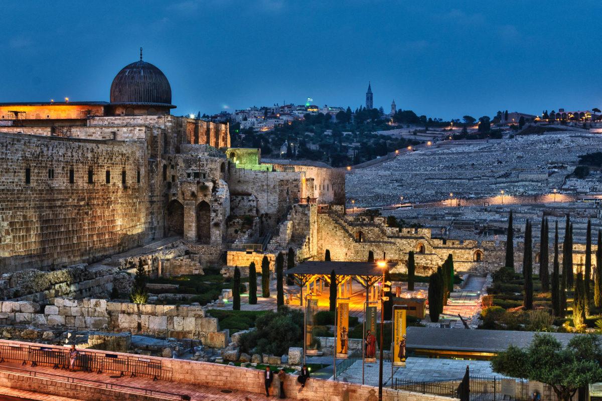 Die erste steinerne Al Aqsa-Moschee in Jerusalem wurde ägyptischen Schriften zufolge im Jahr 717 fertiggestellt, Israel - © doghwithnotail / Shutterstock