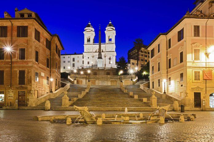 Spanische Treppe In Rom Italien Franks Travelbox