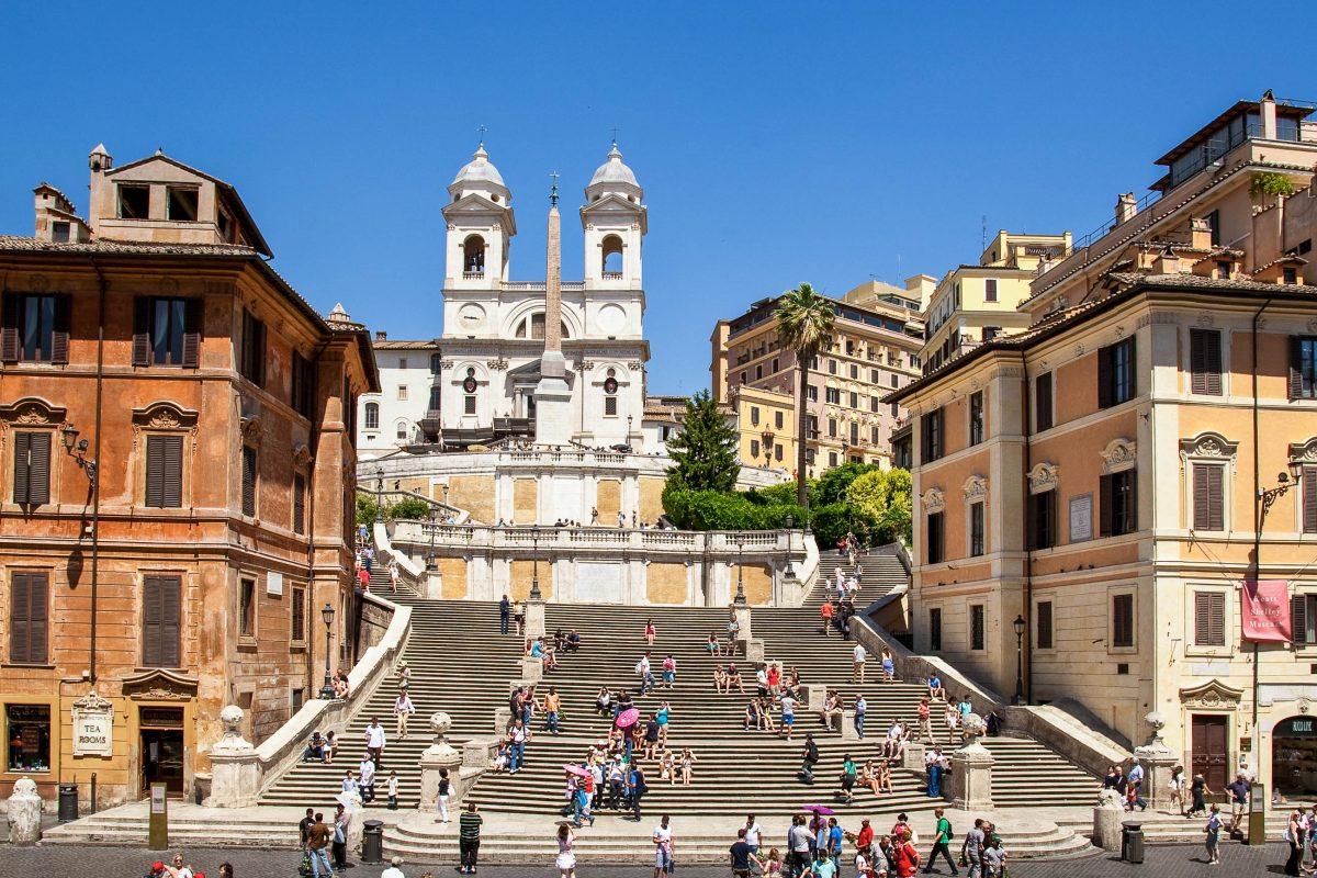 Bilder Spanische Treppe In Rom Italien Franks Travelbox