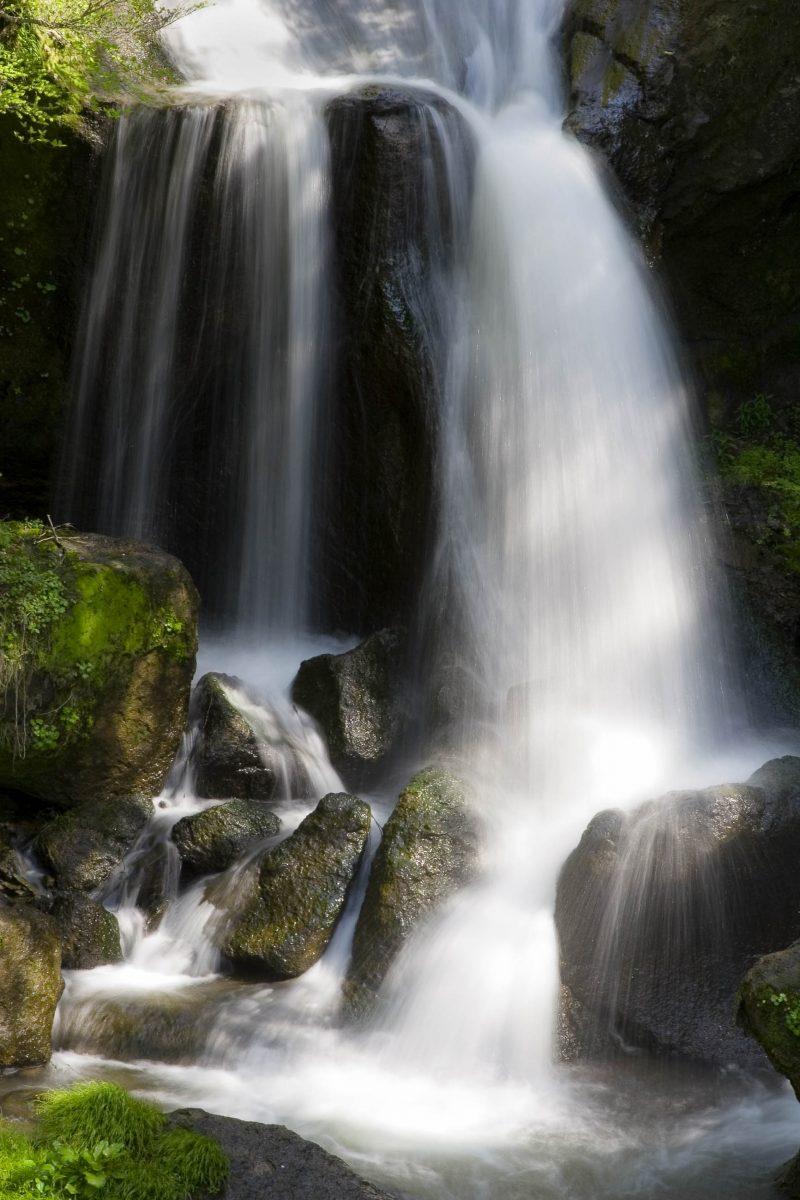"""Die berühmen Ryūzu-Fälle, wörtlich """"Drachenkopf-Wasserfall"""", im Nikko-Nationalpark sind 60m hoch und bis zu 10m breit, Japan - © Craig Hanson / Shutterstock"""