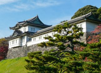 Der kaiserliche Palast in Tokio befindet sich direkt im Stadtzentrum, Japan - © KateD / Fotolia