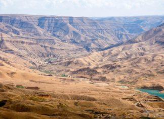 Der Grand Canyon von Jordanien befindet sich nahe dem Berg Nebo im tiefstgelegenen Naturschutzgebiet der Welt  - © flog / franks-travelbox