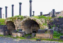 Die griechisch-römische Stadt Gadara im Norden von Jordanien erlebte ihre Blütezeit als Teil des römischen Reiches und bestand einst aus prächtigen Bauten der Antike - © flog / franks-travelbox