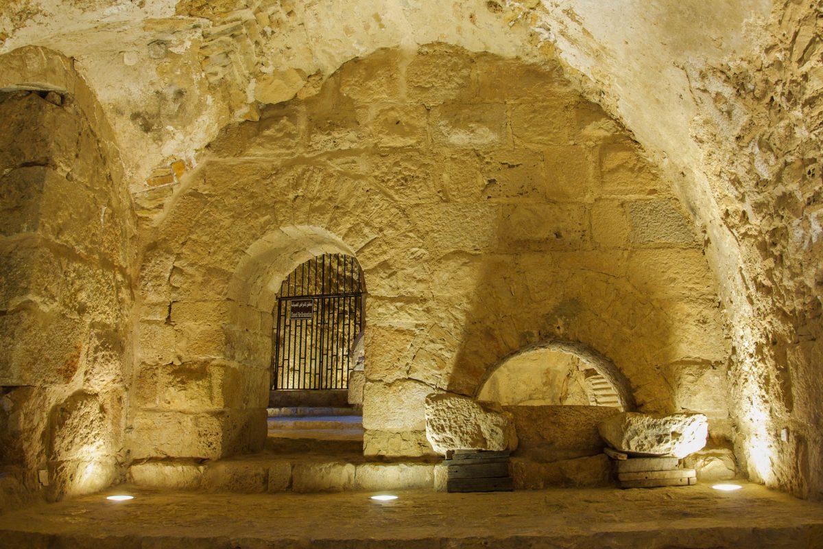 Die Verwendung der einzelnen Räume der Festung von Ajlun im Nordwesten von Jordanien ist bis heute nicht geklärt - © flog / franks-travelbox