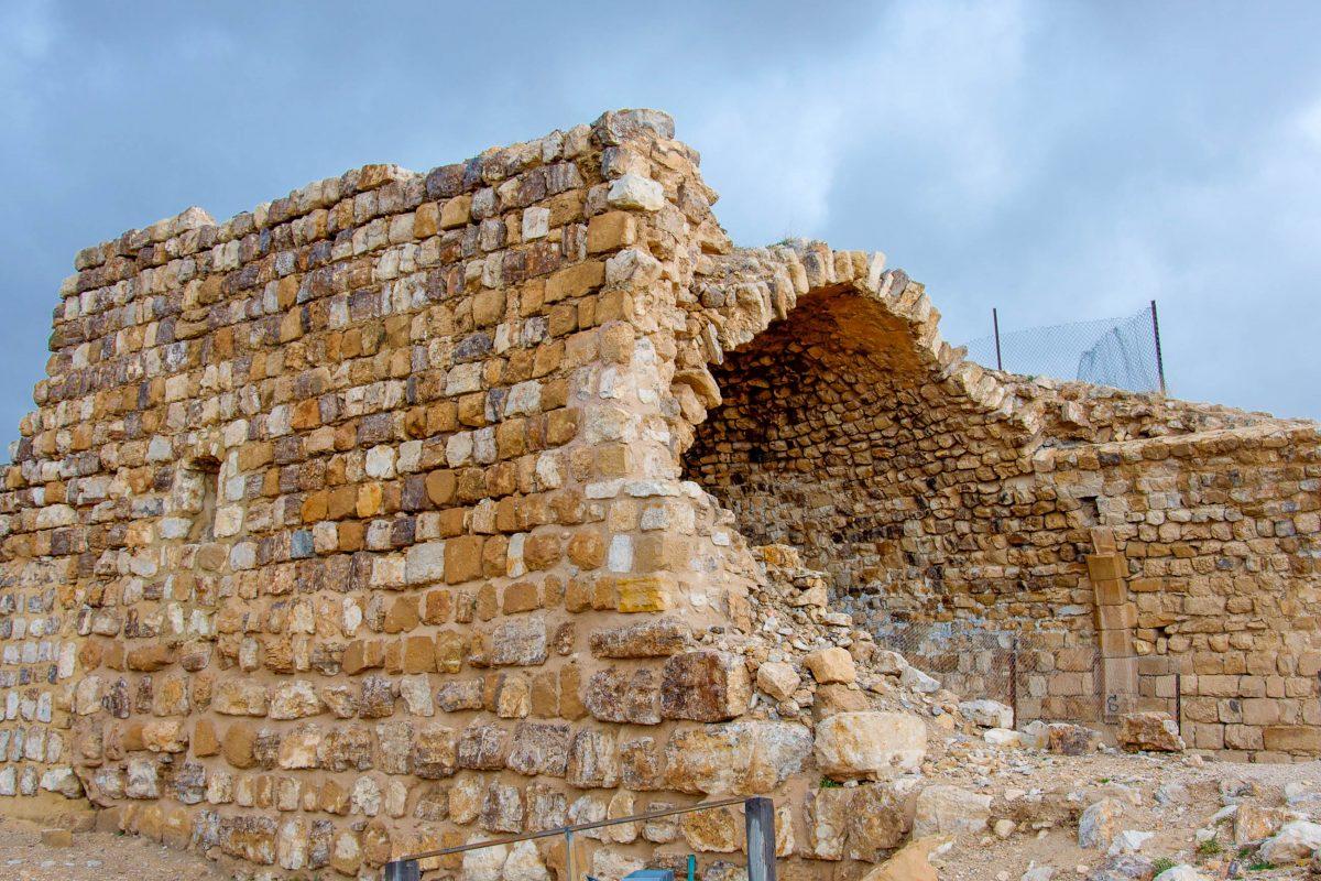 1173 wurde die Burg von Kerak, Jordanien, zum ersten Mal von Saladin belagert, erstem Sultan Ägyptens und Syriens und Erzfeind der Kreuzritter - © flog / franks-travelbox