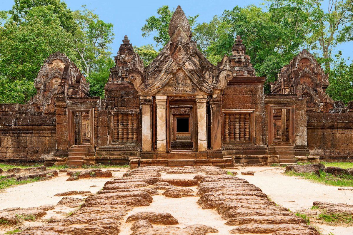 Seit 1992 zählt Angkor Wat zum Weltkulturerbe der UNESCO, Kambodscha - © Muellek Josef / Shutterstock
