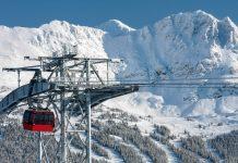 Die neue Peak 2 Peak Gondel, die die beiden Gipfel Whistler and Blackcomb verbindet, Kanada - © Robert Cocquyt / Fotolia