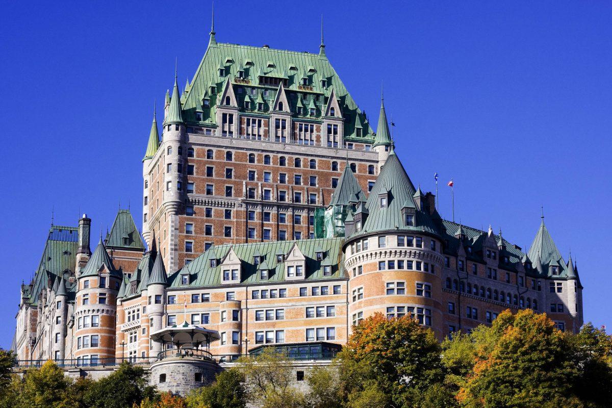 Historisches stadtviertel von quebec kanada franks for Hotel design quebec