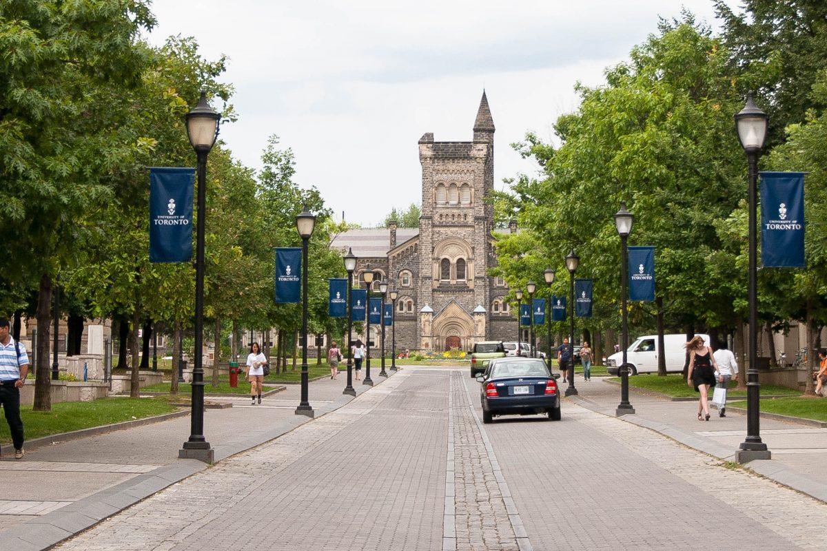 Blick auf die Universität von Toronto, die als größte Universität Kanadas gilt und sich unter den 20 größten Universitäten der Welt befindet - © James Camel / franks-travelbox