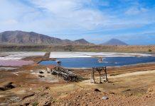 Pedra de Lume im Nordosten von Sal war zu Zeiten des florierenden Salzhandels das Salzaubbauzentrum der Insel Sal, Kap Verde - © Piotr G / Shutterstock