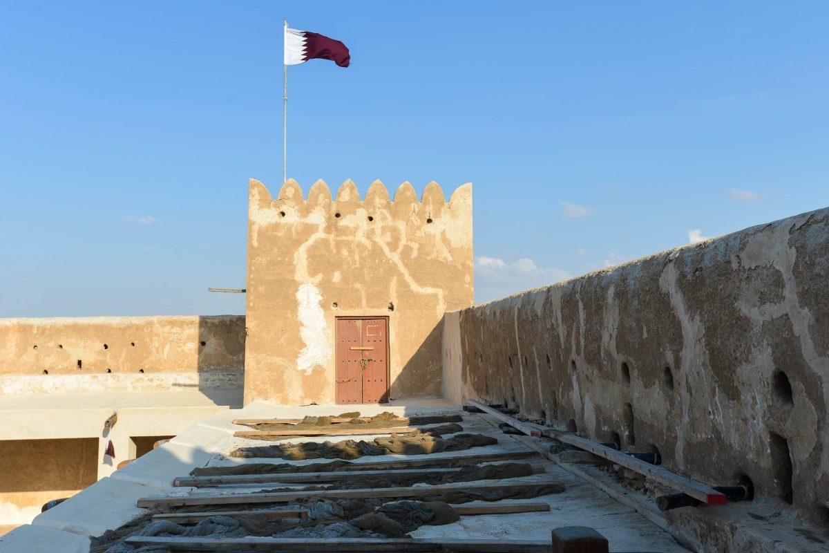 Die Festung Zubara in Katar kann auf eigene Faust erkundet werden, der Eintritt ist frei - © FRASHO / franks-travelbox