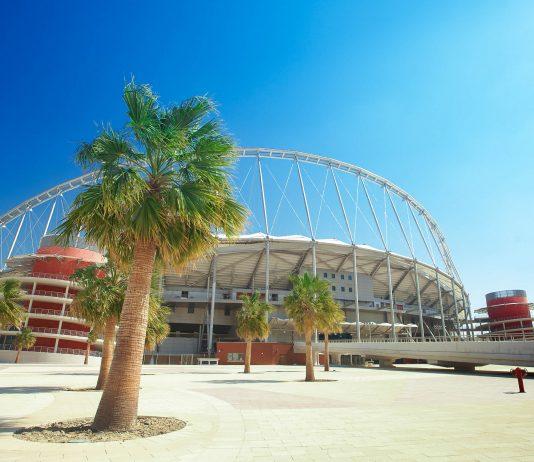 Das Khalifa International Stadion in der Aspire-Zone in Katar ist das Heimstadion der Fußballnationalmannschaft - © Sean Nel / Shutterstock