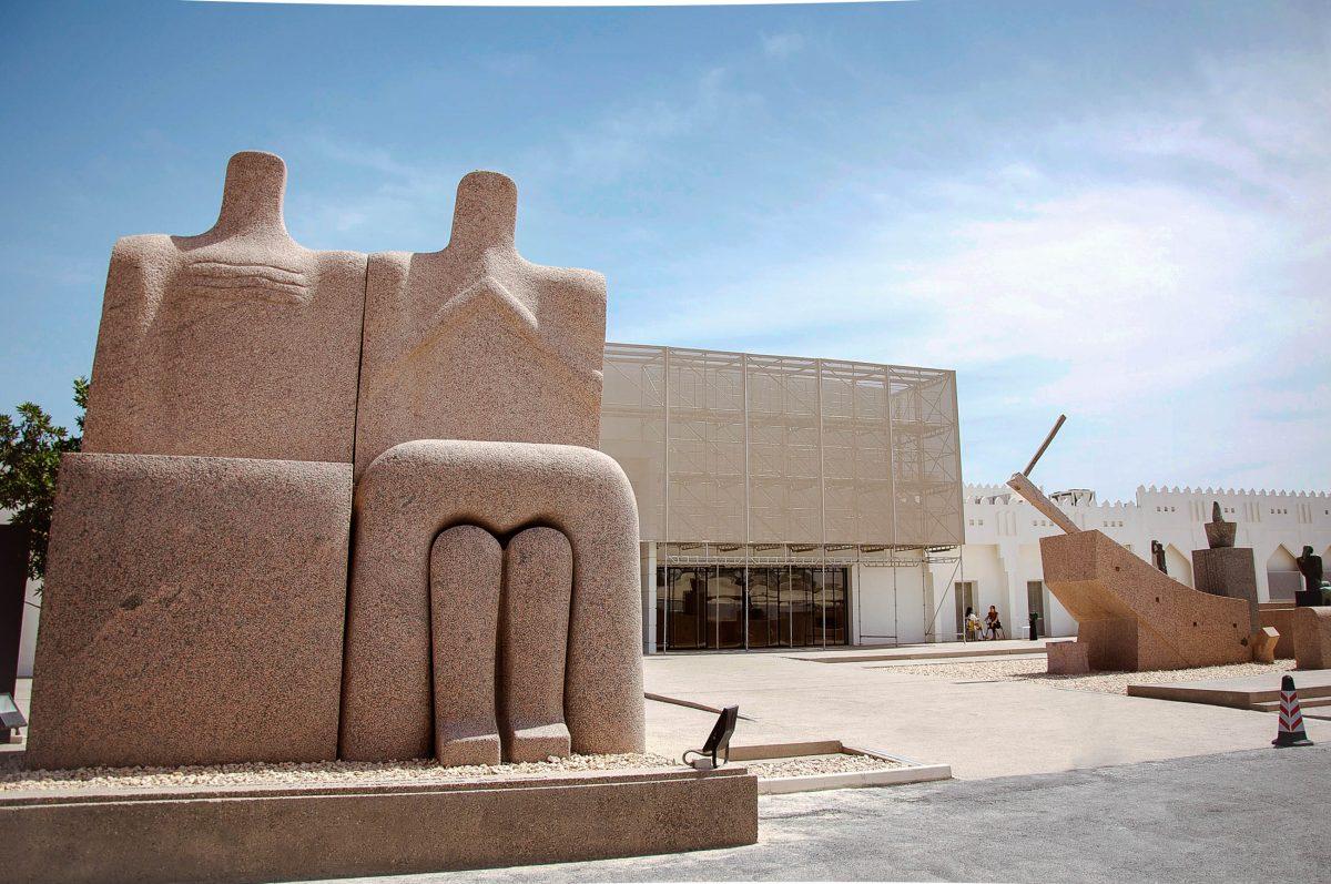 Das MATHAF Arab Museum of Modern Art in Doha ist die erste und bedeutendste Institution, die sich mit arabischer zeitgenössischer Kunst auseinandersetzt, Katar - © Asmaalbuainain CC BY-SA3.0/W