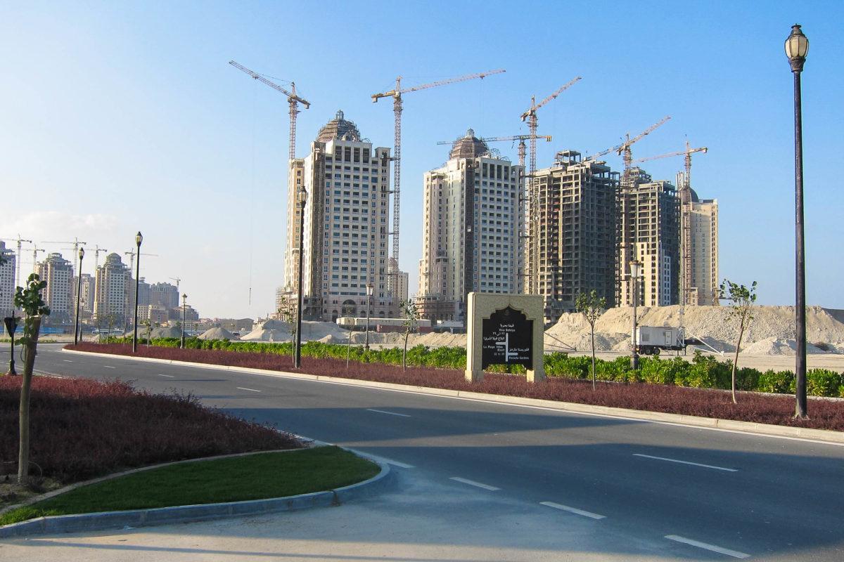"Großbaustelle ""The Pearl"", Doha, Katar - © FRASHO / franks-travelbox"