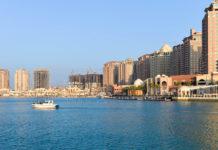 """""""The Pearl"""" ist eine künstlich aufgeschüttete Insel in Doha, Katar - © FRASHO / franks-travelbox"""