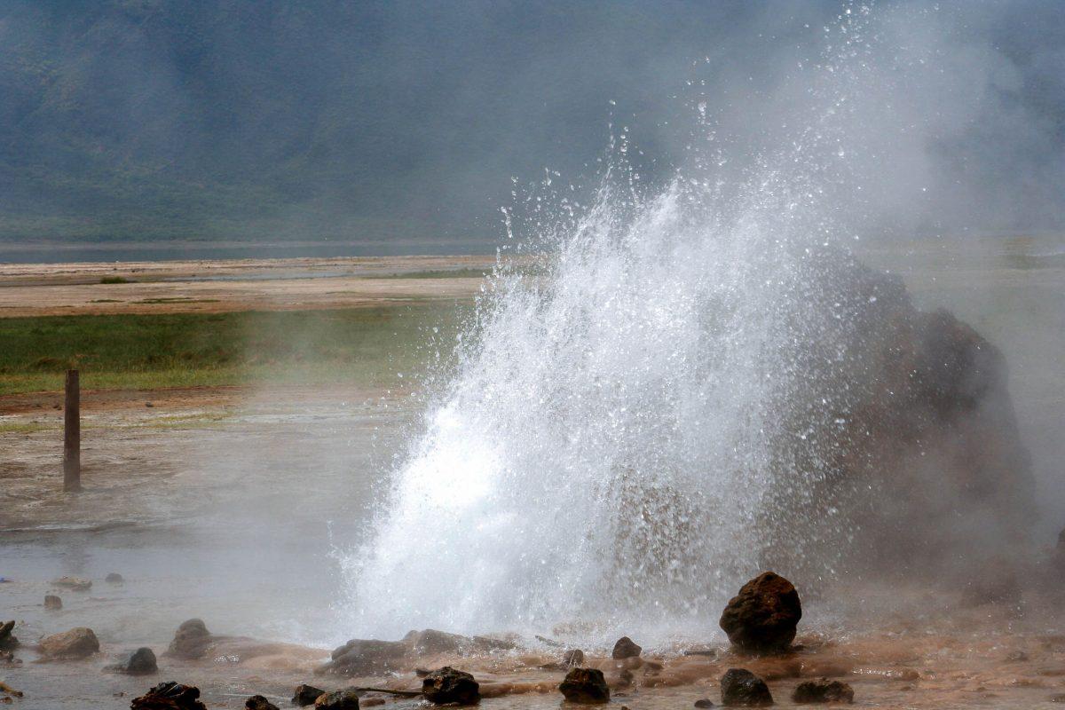 Die Umgebung des Bogoria-Sees ist mit zahlreichen Geysiren die vulkanisch aktivste Region Afrikas, Kenia - © Bhavini / Shutterstock