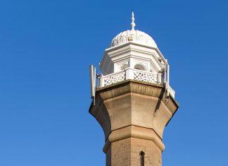 Die Jaima-Moschee in der kenianischen Hauptstadt Nairobi wurde 1902 im traditionellen maurischen Stil errichtet und gehört zu den größten Sakralbauten Kenias  - © vladimir kondrachov / Fotolia