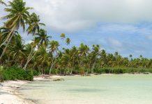 Auf der traumhaften Insel Butaritari gibt es neben paradiesischen Buchten auch Relikte aus dem Zweiten Weltkrieg zu besichtigen, Kiribati - © lidian / Shutterstock