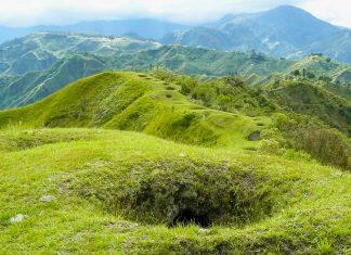 Der archäologische Park Tierradentro inmitten der dichten Vegetation der nördlichen Anden der Provinz Cauca im Südosten von Kolumbien - © Yolka / Shutterstock