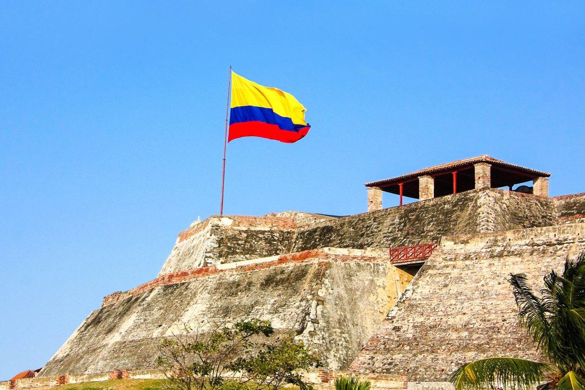 Die Festung San Felipe de Barajas in Cartagena, Kolumbien - © Toniflap / Fotolia