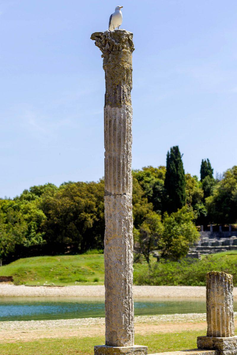"""Historisch interessierte Kroatien-Urlauber sollten die römische """"Villa Maritima"""" in der Val Catena-Bucht im Brijuni Nationalpark besuchen - © Henrique Daniel Araujo/ Shutters"""